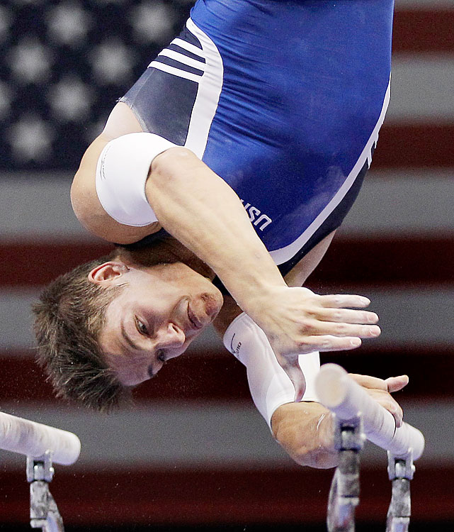 Brooks placed first on high bar, second on parallel bars and fourth in the all-around at the 2010 national championships to make his first world championship team.