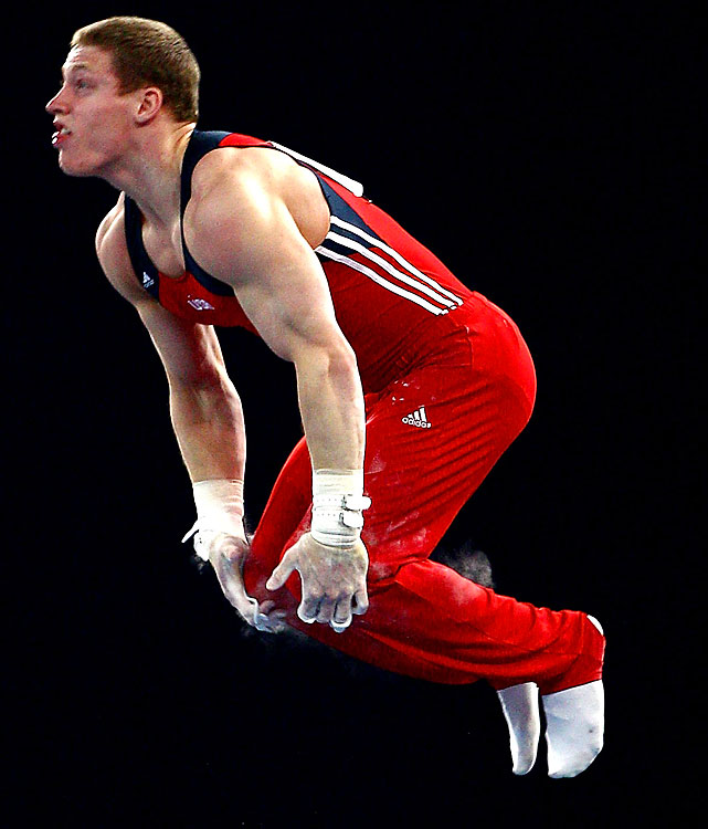 Legendre is one of three Oklahoma Sooners on the six-man team (Horton, Chris Brooks). He won the floor exercise title at the 2008 NCAAs and nationals. He also owns worlds experience from 2009.