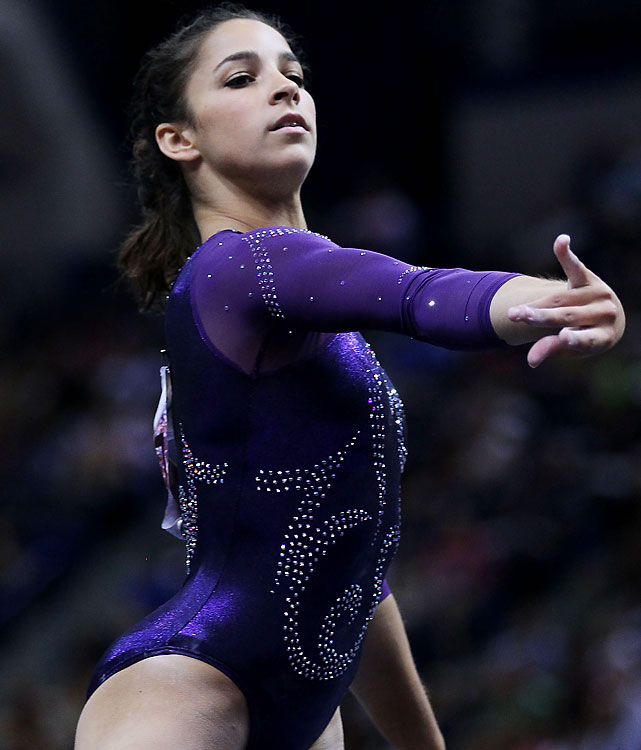 Born in 1994, Raisman is the youngest member of the team and reigning U.S. all-around bronze medalist. She trains with Sacramone.