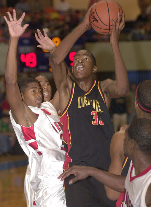 As a high schooler, Durant possessed the skills to be a superstar.  He earned the 2006 All-Met Player of the Year Award at Montrose Christian after a season at Oak Hill, and was rewarded with a scholarship to the University of Texas.