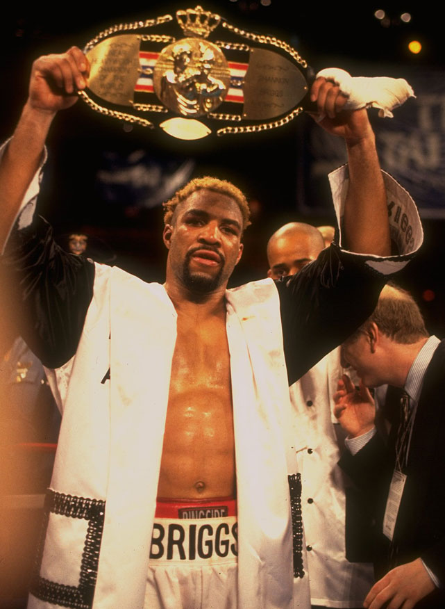 The Brooklyn native outpointed 48-year-old George Foreman in a controversial decision to win the lineal title.