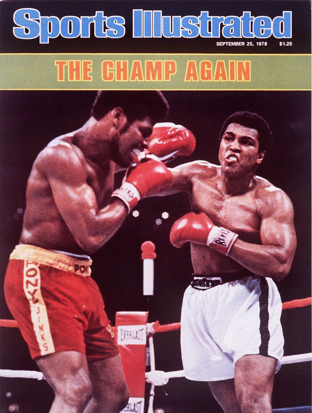 Ali won the title for a record third time with a unanimous decision over Leon Spinks at the Louisiana Superdome, avenging a previous loss to the 1976 Olympic gold medalist.
