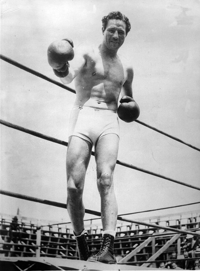 Baer floored reigning champ Primo Carnera no less than 11 times before the referee stopped the fight in the 11th round.