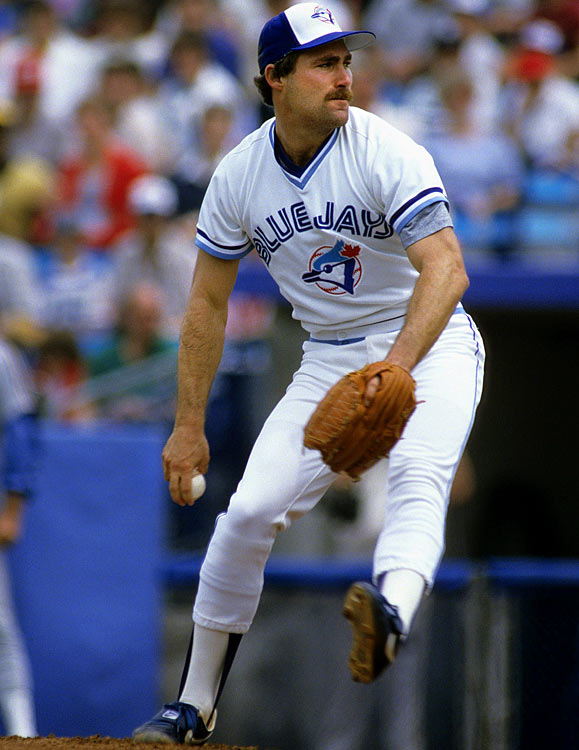 Oct 8, 1985 - ALCS Game 1  Line: 8.0 IP, 3 H, 0 ER, 1 BB, 8 K  After leading the league in ERA in 1985, Dave Stieb also led the Blue Jays to their first playoff appearance in franchise history.  Stieb was fantastic in his playoff debut, holding the Royals to three hits over eight innings.  Stieb was not as fortunate later in the series, losing Game 7 after giving up six earned runs.