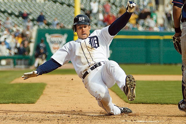 After his call-up to the majors in 2002, Torres saw limited playing time for Detroit.  He totaled just 238 at-bats in his first three years in a Tigers' uniform.