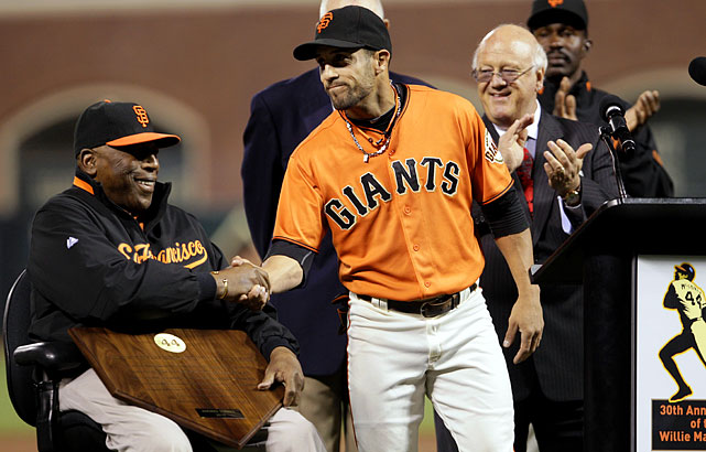 Always open to tips or suggestions, Torres received advice from Willie McCovey during spring training, as the Giants' legend instructed him to hold his bat more upright.  That's clearly been working for Torres, as he set career highs in at-bats, hits, home runs and RBIs in 2010. At the end of the season, Torres was named the winner of the Willie McCovey award, given to the Giants' most inspirational player.