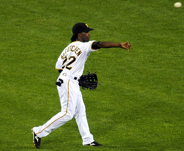 Fast, athletic and with a strong arm, McCutchen has played an efficient center field in PNC Park since being called up from the minors.  He's tallied 18 outfield assists over the past two years, as well as posting a fielding percentage of .989.