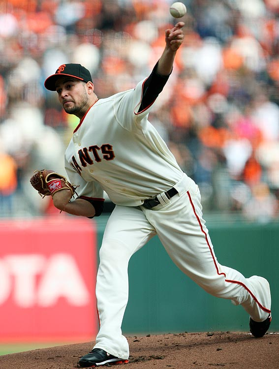The race between the Giants and the Padres was tight throughout the season's final month. From September 4 on, the teams were never separated by more than two games, save for one day in the last week of the season. San Francisco won three of four in San Diego from Sept. 9-12 to tie for first, and took a three-game lead into the season's final series against the Padres at AT&T Park. The Padres won the first two games, but in the season finale, Jonathan Sanchez and five relievers combined on a four-hit shutout that clinched the Giants' first division title since 2003.
