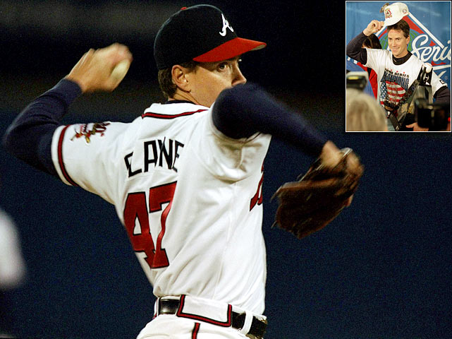 Atlanta was desperate for a World Series victory after coming up short in 1991 and 1992.  In 1995, they would finally become champions behind the arm of Tom Glavine.  He delivered six innings of two-run ball in his Game 2 win before completely dazzling Cleveland in the series-clinching Game 6.  He hurled eight innings of shutout baseball, allowing just one bloop hit, as the Braves finished off the Indians 1-0.  Glavine's ERA for the series was a miniscule 1.29, a mark that helped him win World Series MVP honors.