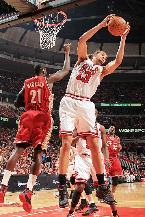 2009-10 Key Stats: 10.7 ppg | 11 rpg | 1.6 bpg | 2.1 apg  Let other owners downgrade Joakim Noah because of Carlos Boozer's arrival in Chicago.  Not only is Boozer expected to miss 12-15 games to start the season, the two should be able to blissfully coexist.  Boozer has never been much of a defender, but his presence alone should free up Noah to float more and play as a weakside help defender, which means more blocks.  With gritty defenders at a premium these days, Noah's defensive prowess makes him a great pick in the fourth or fifth round.