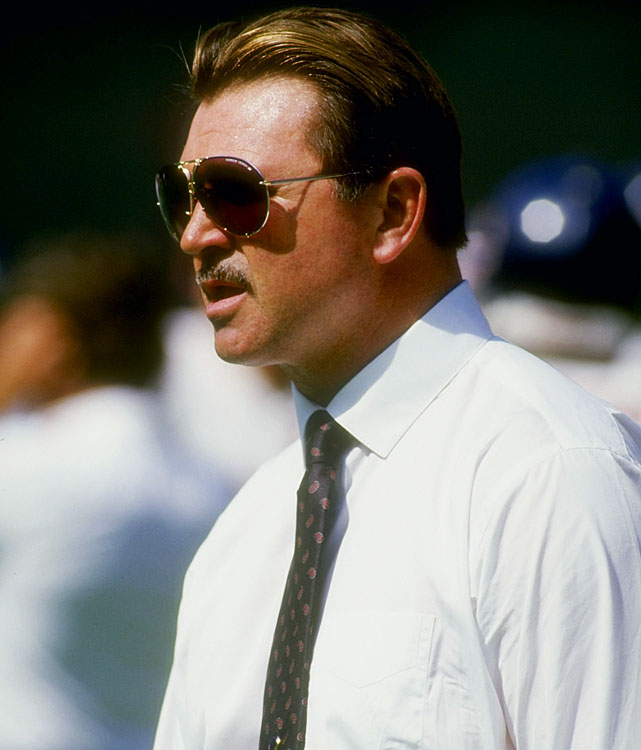 "Two years after guiding ""Da Bears"" to one of the most storied seasons in NFL history, Mike Ditka led Chicago back to the playoffs during their gritty 1987 campaign.  They'd come up short in a divisional matchup with Washington, though, and would fail to make the Super Bowl for the second year in a row.  Ditka led the Bears to the postseason seven times throughout his coaching tenure, but he only hoisted the Lombardi Trophy once."