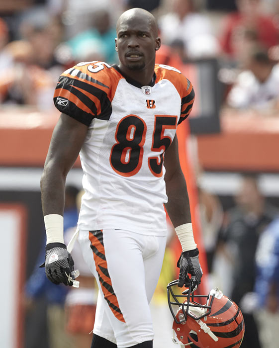Ochocinco isn't quite on the overrated level of his teammate T.O., but he did receive four percent of the votes.