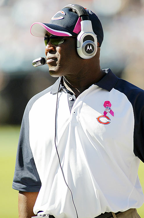 Leading 17-6 and facing a fourth-and-six with less than four minutes left, Chicago Bears coach Lovie Smith was faced with the type of decision that makes or breaks a coach.  He could punt the ball and force a stagnant Panthers offense to march down the field, or he could trust his kicker Robbie Gould to kick a 53-yard field goal and risk ceding great field position to the Panthers if Gould missed.  Smith gambled and went with the latter.  Gould nailed it, cementing the victory for the Bears and giving himself a boost of confidence that might come in handy down the road.