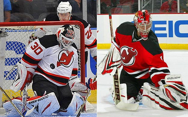 They're not quite as old as the Terry Sawchuk/Johnny Bower tandem that led the Toronto Maple Leafs to their last Stanley Cup in 1967, but certainly Brodeur, 38, and Hedberg, 37, are the best puck-handling duo of all time. Speaking of time, Hedberg knows he has to earn it, but is Brodeur willing to relent and play less during the regular season?   Click HERE  for Darren's take on the goaltending trend in the NHL.