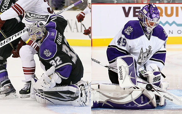 Quick slowly ran out of energy after a breakthrough season as a starter. That won't happen this time around with Bernier pushing not just for playing time, but starting status as well. The competition for the crease will be real and the results should reflect that.   Click HERE  for Darren's take on the goaltending trend in the NHL.