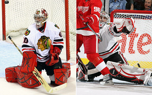 Turco and Crawford are at opposite ends of the career spectrum. Veteran Turco is grasping to finish on a high note and Crawford is looking to establish himself as NHL-ready. It's an interesting dynamic and it might even work...but the odds are long with Turco's penchant for creating his own holes.    Click HERE  for Darren's take on the goaltending trend in the NHL.