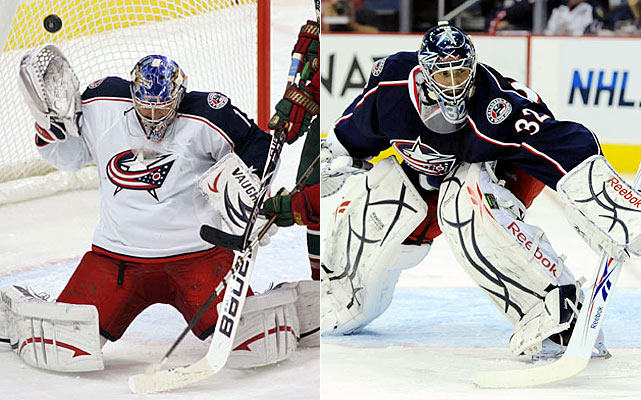 Mason won the Calder Trophy in 2008-09 and was handed a humility sandwich last season, as he struggled mightily throughout. Garon is one of the most reliable relievers in the game and might see more starts because the Jackets won't be as patient with Mason in giving him time to relocate his form.    Click HERE  for Darren's take on the goaltending trend in the NHL.