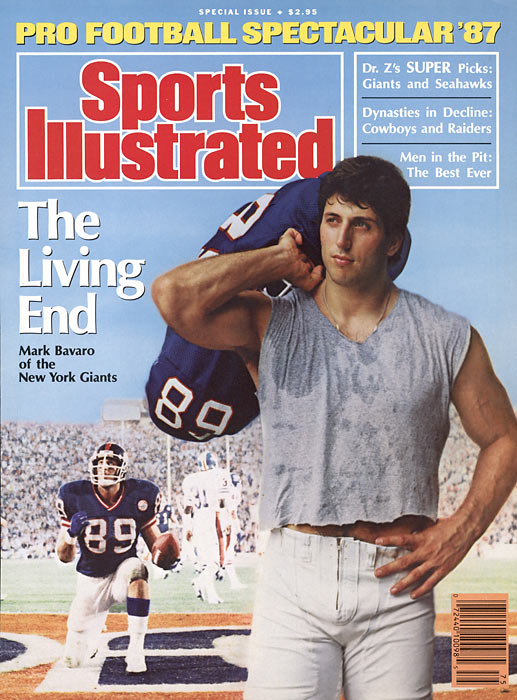 Ditka of his day -- Bill Walsh once called Mark Bavaro the game's premier tight end.  In 1986 the devastating blocker made one of the most memorable plays ever by a tight end, dragging seven 49ers, including Ronnie Lott, as far as 20 yards after making a catch.    Hall of Fame status:  Never a finalist