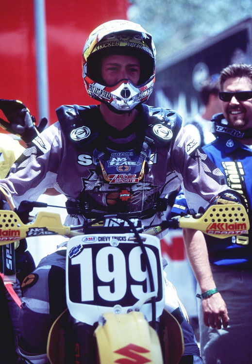 Travis Pastrana astonished the action and motorsports worlds when he burst on to the scene in the late 1990s and early 2000s. By the time he was 16, he had already scored a $175,000 deal with Suzuki. Here Pastrana competes at the AMA/Chevy Trucks National Motocross Series in San Bernardino, Calif.