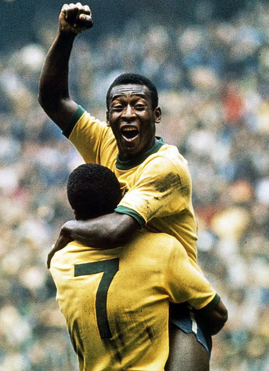 In addition to his goal, Pele added a beautiful assist in the final minutes of the 1970 World Cup, delivering a perfect pass to teammate Carlos Alberto.