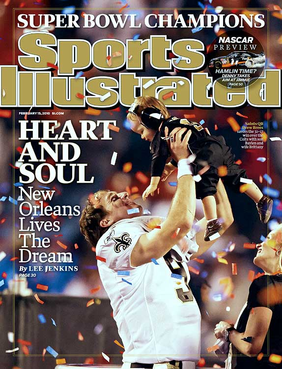 Drew, Baylen and Brittany shared the cover of SI's Feb. 15, 2010 issue.