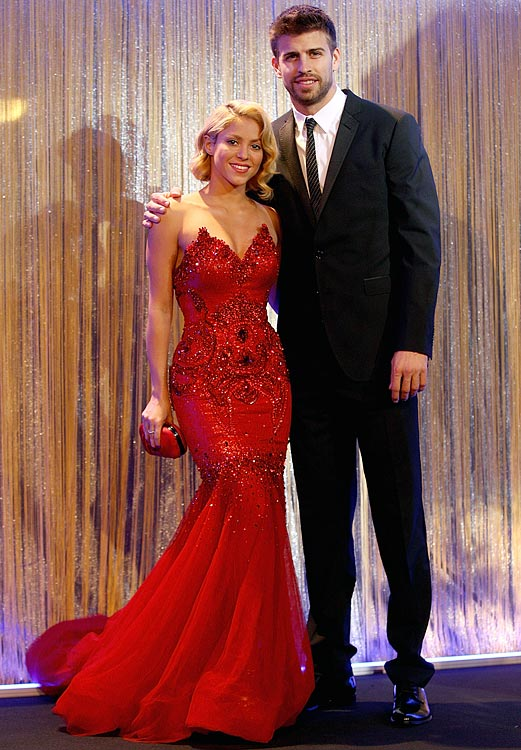 "The FC Barcelona footballer and the pop singer met when he appeared in the music video for her single ""Waka Waka (This Time for Africa),"" the official song of the 2010 FIFA World Cup. Shakira officially confirmed their relationship in March 2011. Their first child, son Milan Piqué Mebarak, was born on January 22, 2013 in Barcelona, Spain. Their second son, Sasha Piqué Mebarak, was born on January 29, 2015."