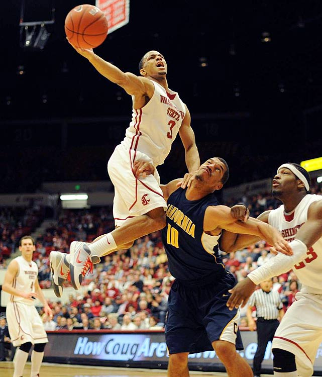 Moore's play is overshadowed by star teammate Klay Thompson, but he enjoyed quite a freshman season in Pullman. As a three-star recruit who signed late with Washington State, Moore didn't enter last season with any buzz. But he was a revelation for new coach Ken Bone, averaging 12.7 points and 4.2 assists per game.