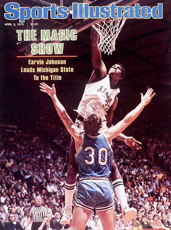 In a harbinger of things to come, Magic Johnson averaged 17 ppg, 7.9 rpg and 7.4 apg for a Michigan State team that went 25-5. Despite Magic's multifaceted brilliance, the Spartans would lose in the Elite Eight to Kentucky.