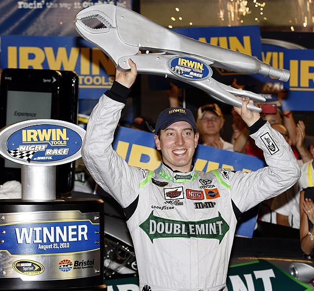 The talented Kyle Busch has 19 career Sprint Cup victories, 42 in the Nationwide Series (and a 2010 championship) and 22 in the truck series. But never before had three of those victories overlapped until he completely overshadowed the weekend of racing at Bristol this summer.