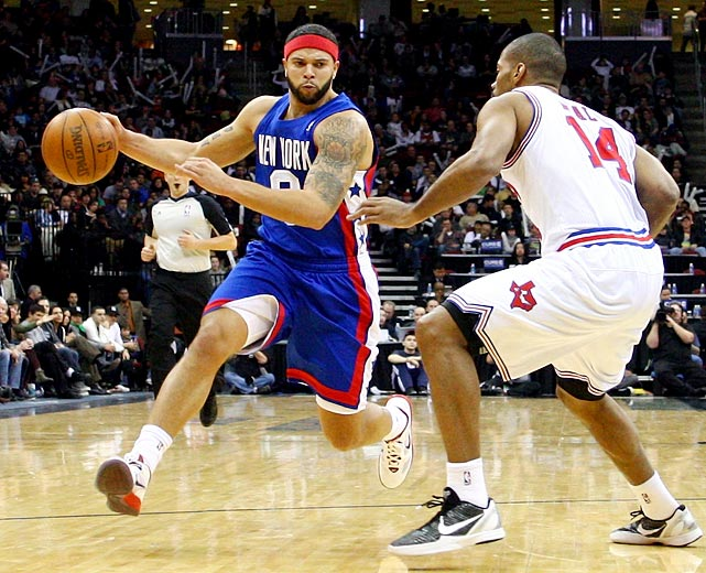 The Nets' point guard, an Olympic gold medalist and three-time All-Star, recently set a franchise record with a 57-point performance. He's averaged at least 18.7 points and 10.3 assists in each of the last four seasons. Williams is set to be a highly coveted free agent in the summer of 2012.