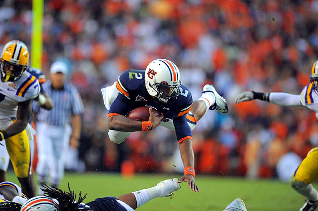 Newton is the  flavor of the day in college football and why not?   The junior has Auburn on the road to a possible national title  game and is the odds on favorite to win the Heisman Trophy this year.   He's also a terrific athlete with great size  and the arm strength to match.   Newton is similar to Tim  Tebow but has a greater degree of upside.   The belief in the scouting community is Newton will make himself eligible for next  April's event.      2 nd  Round  Prospect