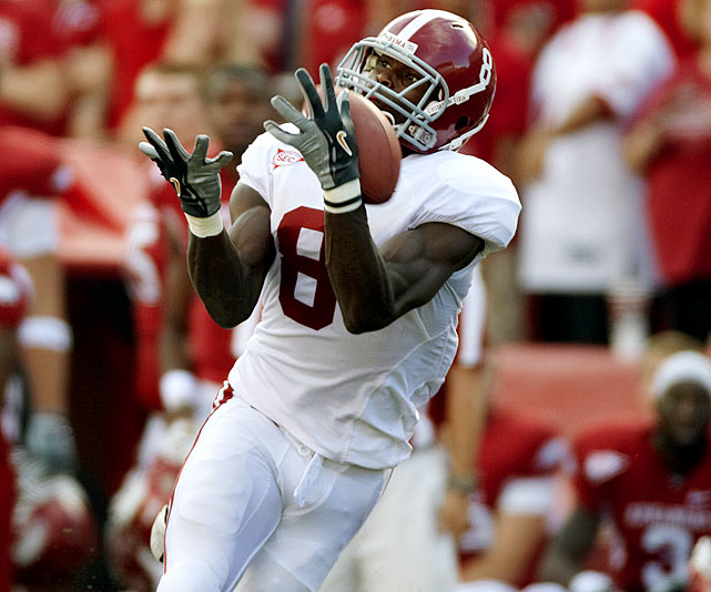 The Tide's No. 1 wideout is an enigma of sorts. At the top of his game, Jones dominates the opposition in every way possible. Yet the All-SEC performer also has a bad habit of making pedestrian mistakes in the big spot. Jones, a junior, offers great upside yet comes with no guarantees.    1 st  Round Prospect