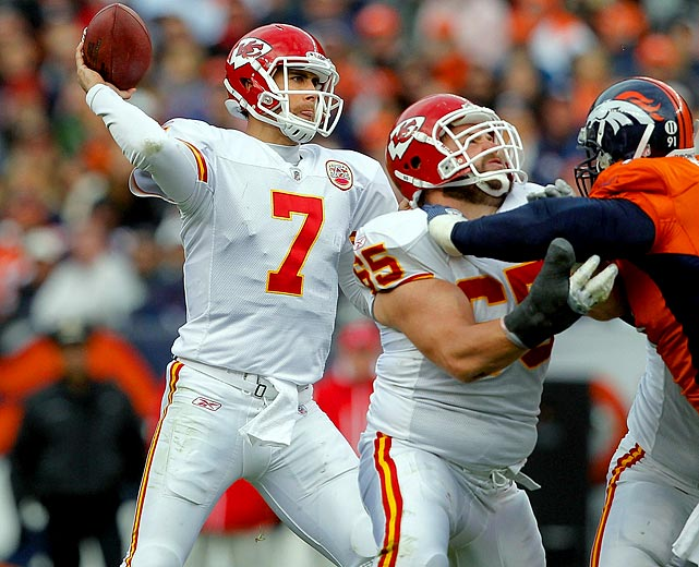 33-of-53 passing for 469 yards and four TDs; 2 rushes for 3 yards in 49-29 loss to the Broncos.