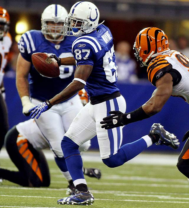 Three receptions for 34 yards in 23-17 win over the Bengals.