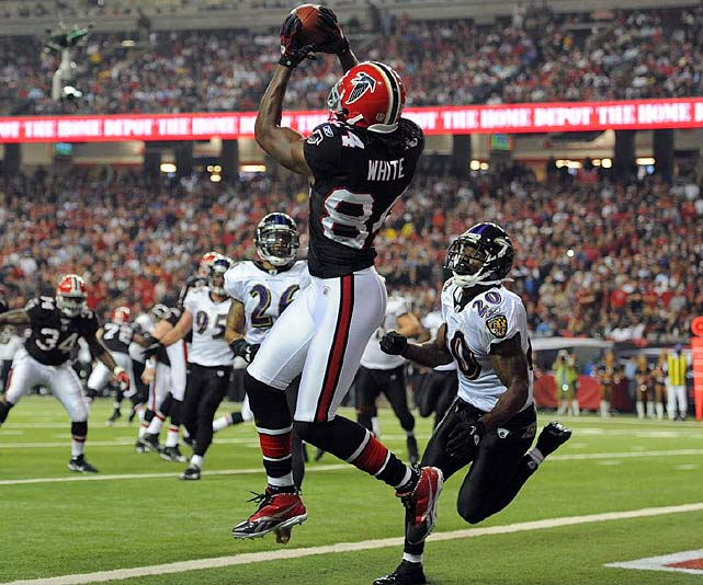 12 receptions for 138 yards and two TDs in 26-21 win over the Ravens.
