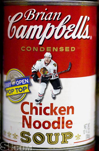 Well, his nickname is Soupy, after all. Still time for the soupmaker to sign him up...