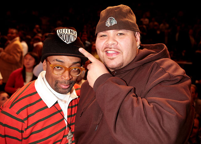 Like Spike Lee, Fat Joe is a Madison Square Garden regular.