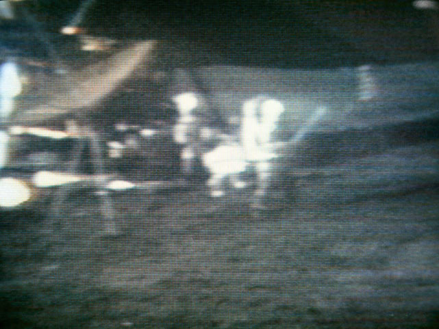 Astronaut Alan Shepard truly made sports a global enterprise with he played golf with a Wilson six iron head attached to a lunar sample scoop handle during a trip to the Moon on Feb. 6, 1971.
