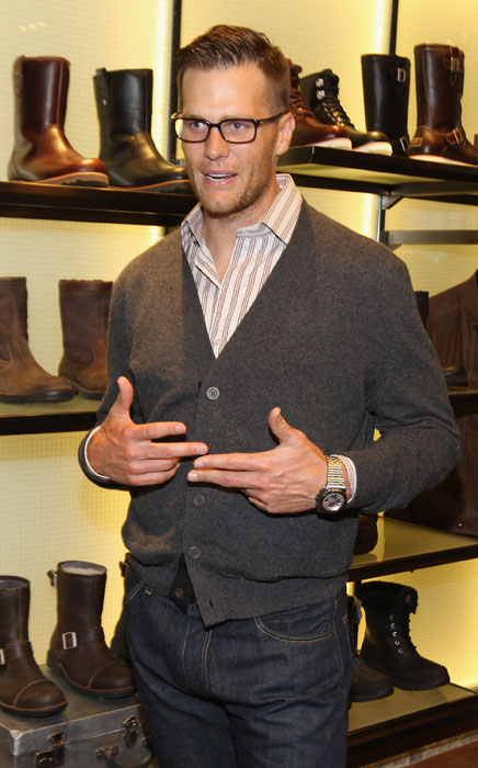 Brady attends the grand opening of UGG For Men in New York City.