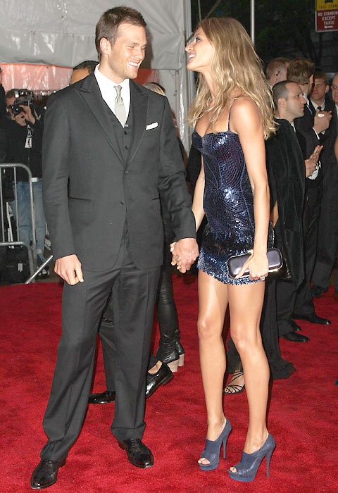 In 2009, Brady married model Gisele Bundchen. The couple -- pictured here at  The Metropolitan Museum of Art in New York City -- had a son named Benjamin in December 2009.