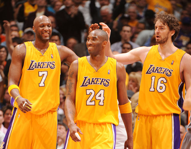 "The ""Tinseltown Trio"" has helped the Lakers win the last two NBA championships. While the Heat stole headlines this summer and the Celtics added frontcourt depth, the Lakers might have made the smartest move of all: standing (relatively) pat. After all, why fix something that isn't broken?"