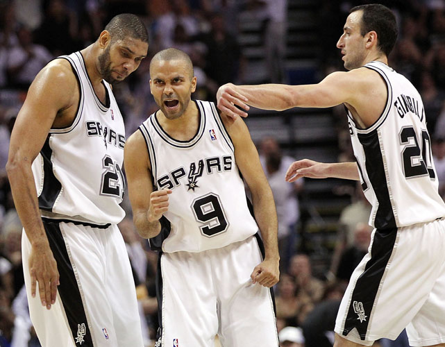Before the Heat, there were the Celtics. And before the Celtics, there were the Spurs, who used the trio of Duncan-Parker-Ginobili to win three NBA titles. Although an influx of youth has helped steady San Antonio's ship, the Spurs still revolve around their version of the Big Three.