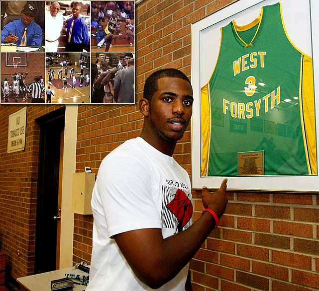 A day after accepting a full scholarship to Wake Forest, Chris Paul learned his beloved grandfather, Papa Chilly, was beaten to death by five juveniles. To honor his late grandfather, Paul planned to score 61 points, one for every year of his grandfather's life. Late in the next game, Paul scored his 61st point and was fouled. Paul intentionally missed the free throw, then walked over to the bench and collapsed into his parents' arms.