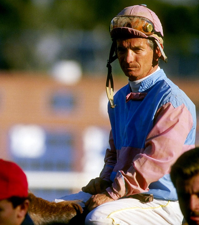 The Hall of Fame jockey was 54 when he became the oldest man to win the Kentucky Derby in 1986, piloting 18-to-1 longshot Ferdinand.