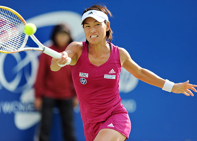 Date Krumm was named the WTA's Most Improved Player in 1992, cracked the Top 10 in '94 and quit the sport in '96. Since returning from a 12-year retirement in 2008 at 37, she's enjoyed success against players half her age: the Tokyo native turned 40 during this year's Japan Open, upsetting the likes of Maria Sharapova and Daniela Hantuchova en route to the final.