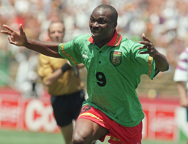 The Cameroonian icon became the oldest player to appear in a World Cup in 1994 at 42 -- and the oldest goalscorer in the competition's history with a goal against Russia in the group stage.