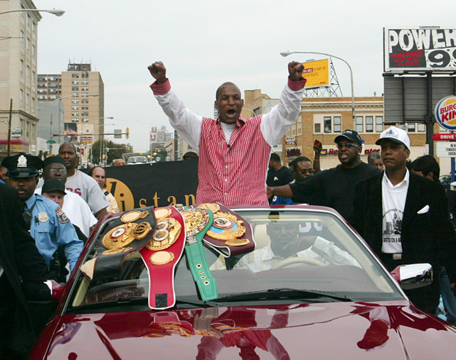 Following the De La Hoya knockout, the city of Philadelphia threw Hopkins a victory parade in his honor.