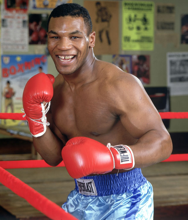 Few athletes have captured the imagination quite like Tyson, the Brooklyn native who became history's youngest heavyweight champion at 20. After winning his first 19 pro fights by knockout (including 12 in the first round), Tyson unified the fractured heavyweight championship with an electrifying combination of strength, hand speed, accuracy and coordination. His nine heavyweight title defenses ranks sixth behind Joe Louis, Larry Holmes, Muhammad Ali, Lennox Lewis and Wladimir Klitschko. He retired in 2005 with a 50-6-2 record and 44 knockouts.