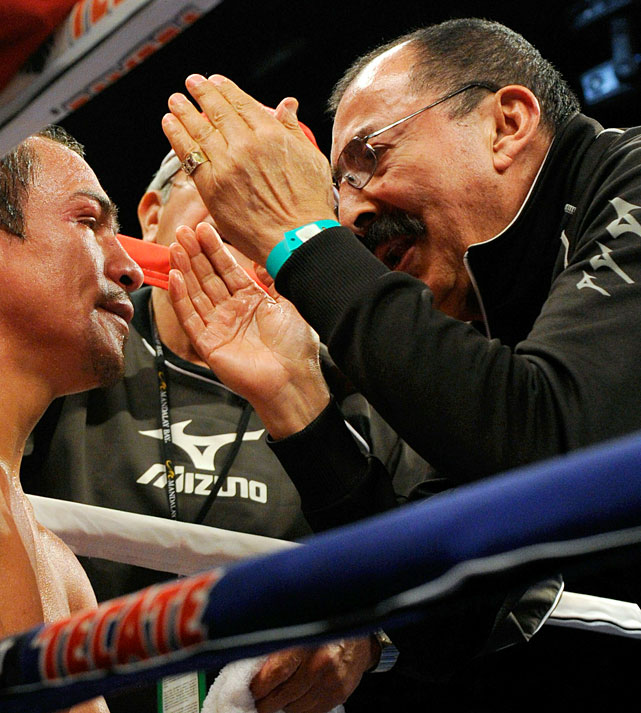 "The legendary Mexican trainer, who guided the national boxing team at four Olympic Games, has trained 19 world champions -- including Hall of Famers like Ricardo ""Finito"" Lopez, Humberto ""Chiquita"" Gonzalez and Daniel Zaragoza. He currently trains lightweight champion Juan Manuel Marquez, a shoo-in for induction one day."