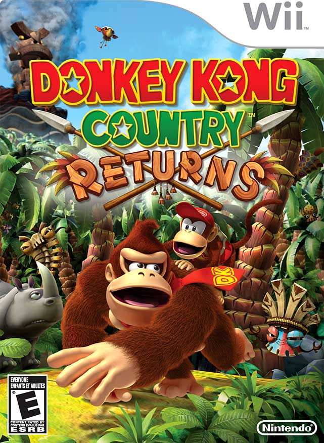 Donkey & Diddy Kong make another run for the bananas in a clever and colorful game that's a great throwback to the classic days of high-quality platformers.